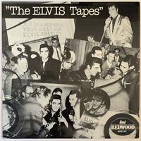 ELVIS PRESLEY THE ELVIS TAPES LP REDWOOD UK INTERVIEW DISC NEAR MINT PRO CLEANED