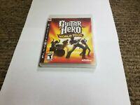 Guitar Hero: World Tour (Sony PlayStation 3, 2008) ps3 new