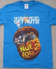 THE NUT JOB 2 NUTTY BY NATURE 2017 OFFICIAL MOVIE PROMO T-SHIRT KIDS MEDIUM