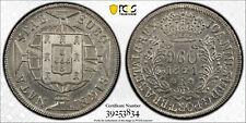1821 R Brazil Silver 960 Reis MS 63 PCGS Rare Grade 3834