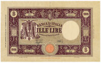 ITALY banknote 1000 Lire 12.12.1942. VF Very Fine
