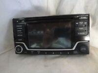 16 Nissan Sentra Display Screen Satellite Radio Cd Face Plate 28185-4AF1A RPD7