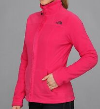 NWT The North Face Full Zip Fleece Jacket, Pink, Medium, $99 retail price