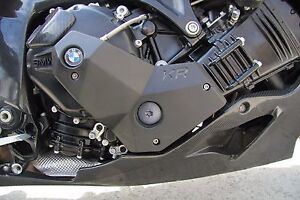 Right and Left Engine Cover Slider Protectors For BMW K1200R, K1300R