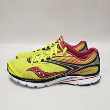 Saucony Kinvara 4 10197-3 Running Training Yellow Pink Women's Shoes Size 9.5