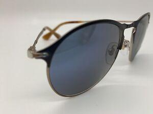 Persol Sunglasses PO 7649-S 1071/56 Silver 53-18-145