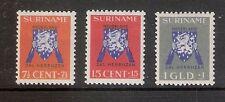 Suriname Nummer  197/199    Ongebruikt.