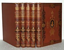The Life And Times Of William Ewart Gladstone, 5 Vol Set, HB, C1898. Mackenzie