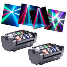 2PCS 100W DJ Spider Beam Moving Head Light DMX Stage Light Party Club Lighting