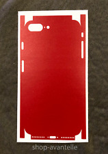 Apple iPhone 7 Plus / iPhone 8 Plus Full Body Decal Skin by Avantelle - Red
