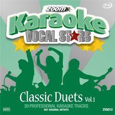 Zoom Karaoke Vocal Stars Series Volume 12 CD+G - Classic Duets