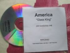 America Glass King Int'l Exclusive Sony BMG  CDr UK Promo CD Single
