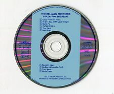 Bellamy Brothers cd CRAZY FROM THE HEART © 1987 Intercord 1st press INT 845.103