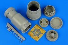 Aires 1/48 MiG-23 Flogger exhaust nozzle - closed for Trumpeter kit # 4598