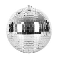 """BOULE A FACETTES 20CM 8"""" SKYTEC ECLAIRAGE EFFET DISCO DJ PA LED LIGHT SHOW DECO"""
