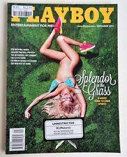 US Playboy Magazine *September 2013 *Ciara Price Cover *Splendor in the Grass