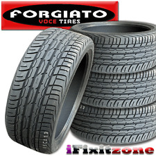 4 Forgiato Voce UHP 235/45ZR17 97W 420AAA Ultra High Performance Tires 235/45/17
