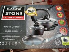 New Baccarat Stone Cookware Set 4 Piece