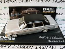 OPE137 1/43 IXO designer serie OPEL collection : ADMIRAL B H.Killmer silver