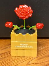 2021 Solar Powered Dancing Toy New - VALENTINE'S DAY Dancing Flower - RED ROSES