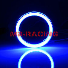 "1x 60mm (2.36"") LED Halo Rings Angel Eyes HID Super Blue Headlight Fog Light"