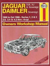 Jaguar XJ6 S. I II III (2.8 3.4 4.2) Reparaturanleitung workshop repair manual