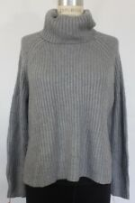 Nwt Bar Iii Womens Thick Long Sleeve Turtleneck Pullover Sweater Gray L $89