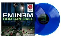 Eminem - Curtain Call Exclusive Limited Edition Blue Colored Vinyl 2 LP