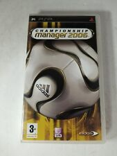CHAMPIONSHIP MANAGER 2K6 2006 SOCCER GAME FOR PSP PLAYSTATION PORTABLE SYSTEM