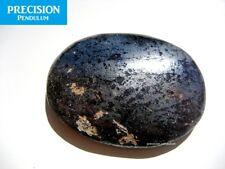Hematite Amulet Gemstone Thumb Palm Chakra Healing Therapy Worry Stone Cabochon