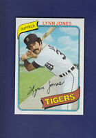 Lynn Jones RC 1980 TOPPS Baseball #123 (MINT) Detroit Tigers