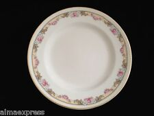 KT&K Knowles Taylor Ivory Semi Vitreous China Roses Yellow 6-1/4 BREAD PLATE 34B
