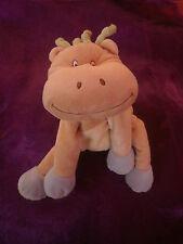 Doudou vert marron creme bleu girafe vache hippopotame kiabi kitchoun NICOTOY