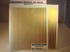 DECALS FILETS OR - COLORADO  10008