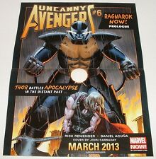 Poster - Uncanny Avengers #6/Ultimate Wolverine #1 - VF - SALE!!!