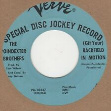 Poindexter Brothers (Git Your) Backfield In Motion Verve Demo VK-10447 Soul Nort