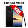 NEW Samsung Galaxy Note 8 SM-N950U1 GSM Unlocked Smartphone - Midnight Black
