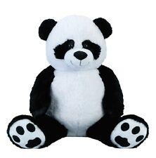 Riesen Pandabär Kuschelbär XXL 100 cm groß Plüschbär Kuscheltier Panda kuschelig