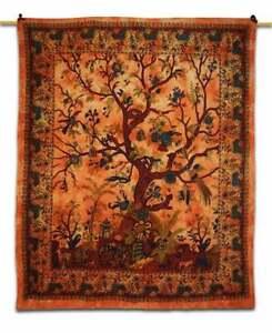 Tie Dye Tree Of life Wall Hanging Mandala Boho Tapestry Wall Decor tapestry,