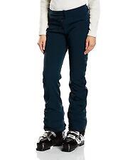 Nouveau Eider Baqueira 2 Femme Ski Pantalon Pantalon Soft Shell Bleu Foncé Taille: UK 14