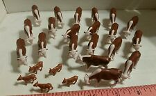 1/64 ERTL FARM TOY QTY OF 20 HEREFORD BEEF COWS CATTLE & 5 calves 4 YOUR DISPLAY