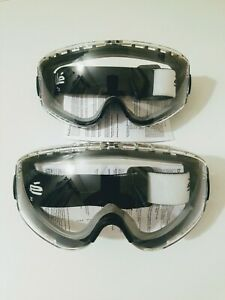 Lot de 2 paires de lunette de protection, Lunette masque de protection Bollé