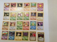 Team Rocket Common Cards COMPLETE SET 24 Cards Pokémon M/NM 49-70,78,79
