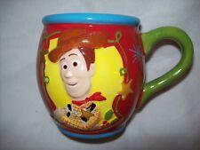 Toy Story ceramic Coffee Mug Cup Disney Pixar 3-D Woody T-Rex