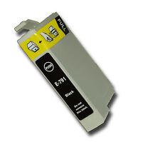 1 Negro Compatible no-OEM T0791' búho' Cartucho De Tinta Con Epson Stylus PX800FW