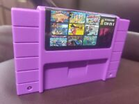 120 in 1 SNES Super Nintendo Multi Cartridge Game Zelda Mario Free Shipping