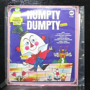 "Humpty Dumpty EP 7"" Mint- Peter Pan Records F1205 USA"