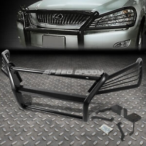 FOR 04-09 LEXUS RX330/350/400H BLACK COATED MILD STEEL FRONT BUMPER GRILL GUARD