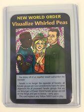 Illuminati New World Order INWO Assassins Rare Cards NWO Visualized Whirled Peas