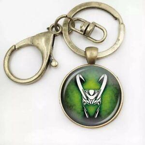 Loki God Of Mischief Keyring Pendant Marvel Loki Keyring Great Novelty Gift
